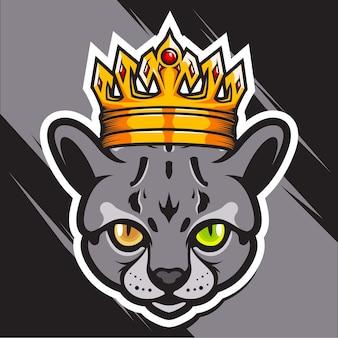 Rey de la cabeza de gato