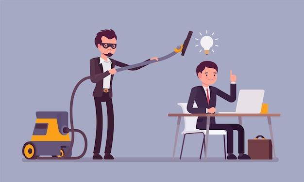 Robar ideas de negocios
