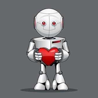 Robot chico divertido