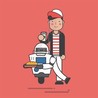 Robot de comida