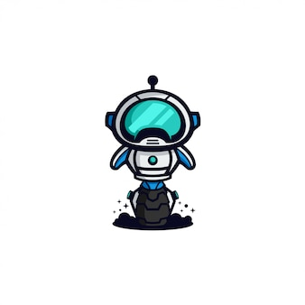 Robot de icono