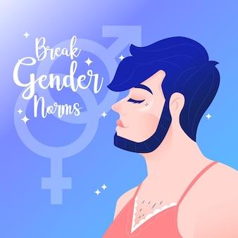 Romper el concepto de normas de género