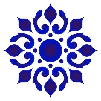 Ronda floral decorativa