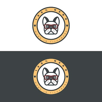 Ropa bulldog francés logo