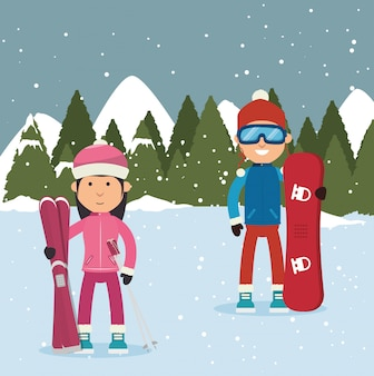 Ropa deportiva de invierno y accesorios