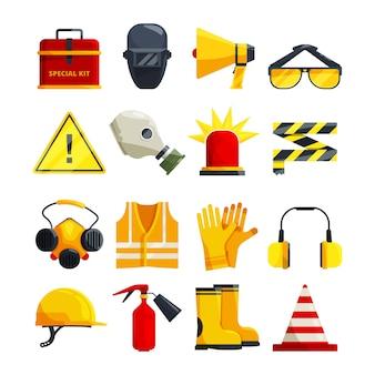 Ropa de protección para equipos de trabajo y seguridad.
