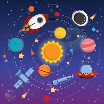 Rotación del espacio