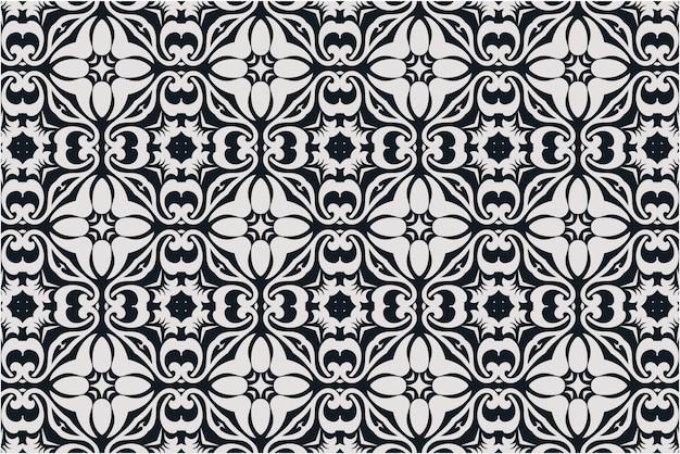 Royal damasco de patrones sin fisuras