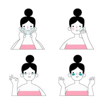 Rutina de cuidado de la piel para las mujeres