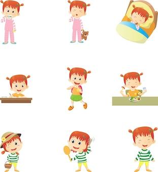 Rutinas diarias para niños