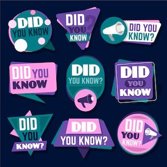 ¿sabías colección de insignias?