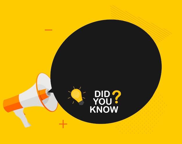 ¿sabías una etiqueta adhesiva de hechos interesantes?