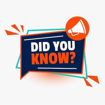 ¿sabías que con el icono de megáfono?