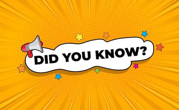¿sabías redacción con bocadillo y megáfono?