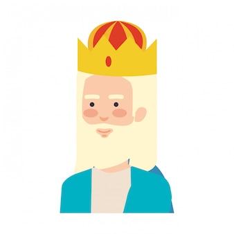 Sabios reyes personajes de pesebre
