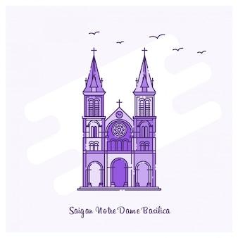 Saigan notre dame basilica emblema