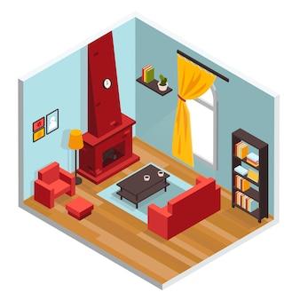 Sala de estar inerior concept