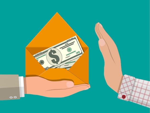 Salarios ocultos, pagos negros, evasión de impuestos, soborno
