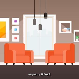 Salón de estar flat