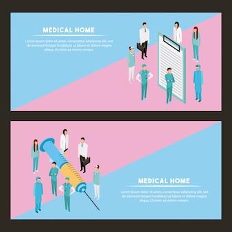Salud de personas medicas