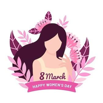 Saludo del día internacional de la mujer
