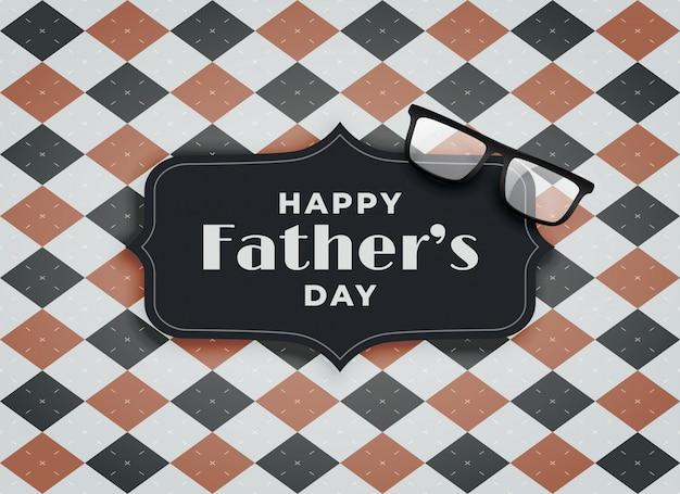 Saludo para el feliz día del padre.