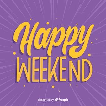 Saludo fin de semana rayos
