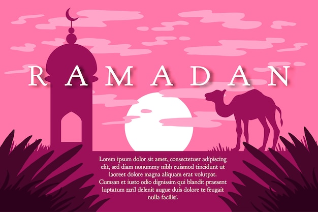 Saludo ramadán kareem