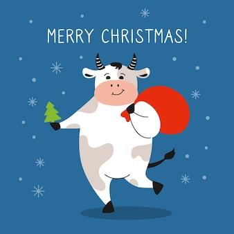 Saludo, tarjeta de navidad