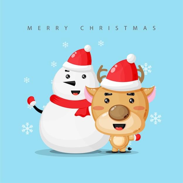 Saludo temático de navidad