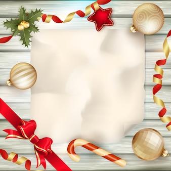 Saludo de vacaciones y tarjeta de navidad.