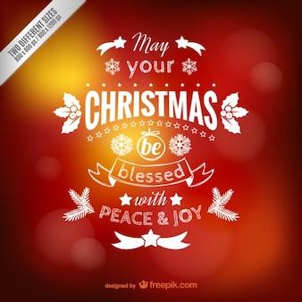 Saludos letras navidad