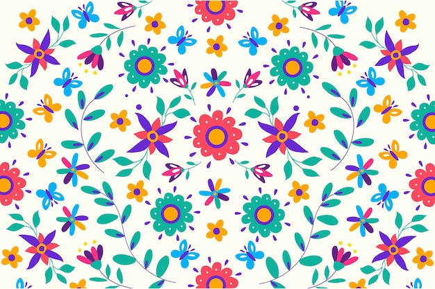 Salvapantallas mexicano colorido