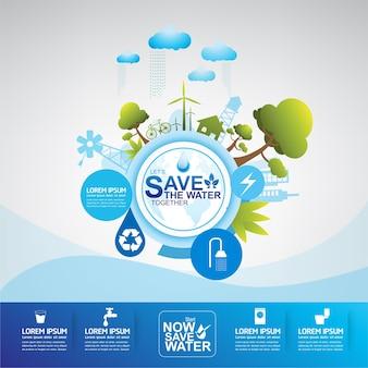 Salvar el agua