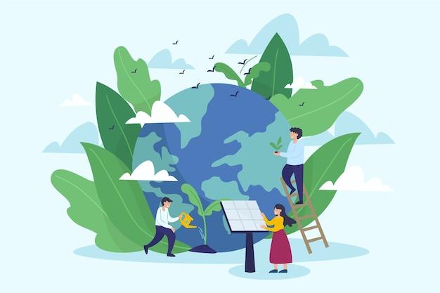 Salvar el concepto del planeta
