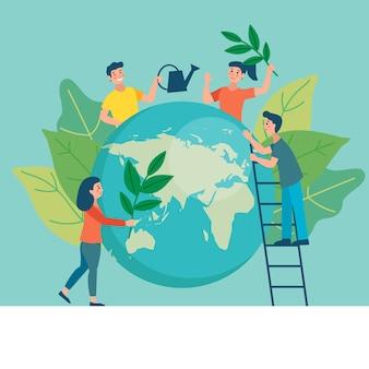 Salvar el planeta deja el concepto y restaurar
