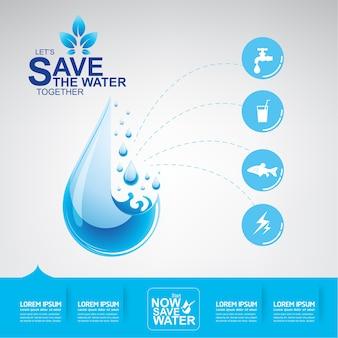 Salvar el vector de agua el agua es vida