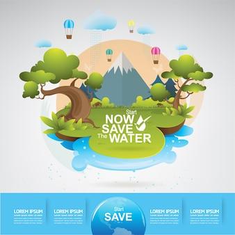 Salvar la vida del concepto de agua