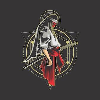 Samurai geometría sagrada