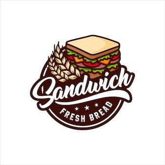 Sandwich de pan fresco
