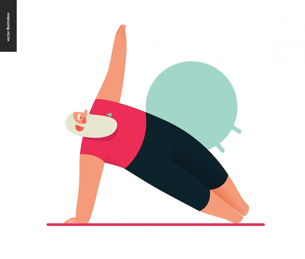 Santa deportiva - yoga