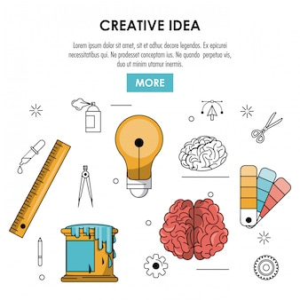 Sea un cartel creativo
