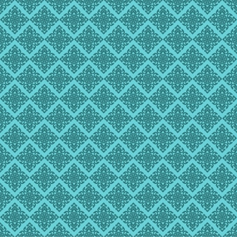 Seamless line thai green pattern