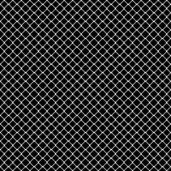 Seamless patrón monocromático cuadrado abstracto