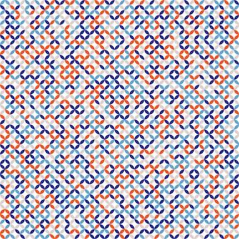 Seamless retro patrón