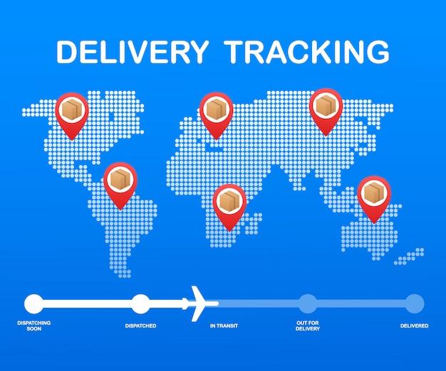 Seguimiento de paquetes en línea