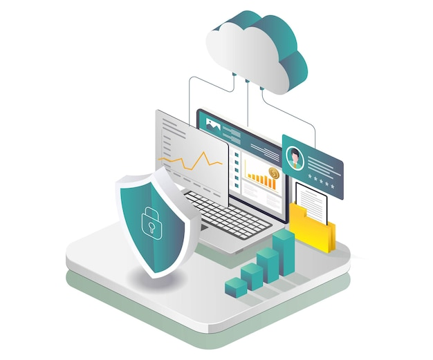Seguridad de datos de servidores en la nube y análisis de negocios de inversiones