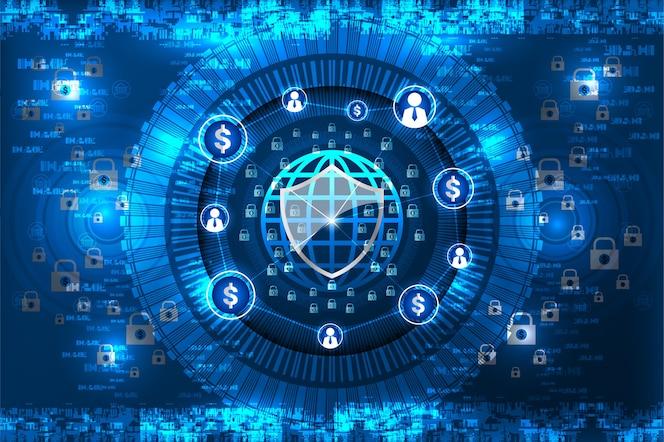 Seguridad, tecnología financiera