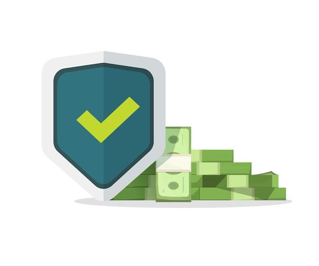 El seguro financiero garantiza la protección del dinero