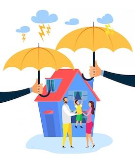 Seguros de bienes raíces planos